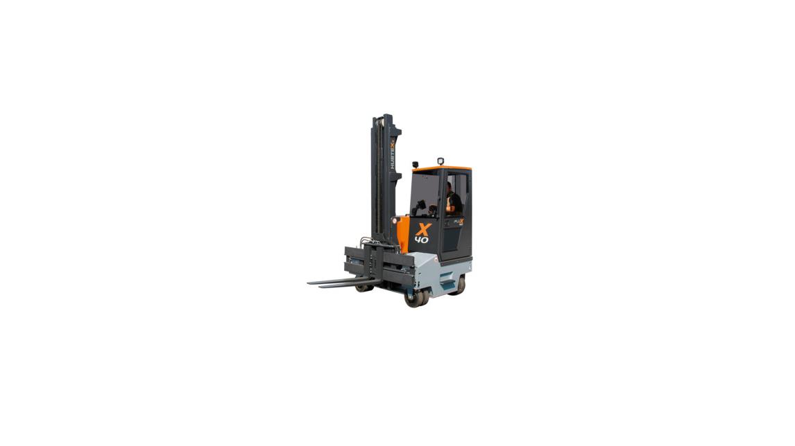 Logo Multidirectional Counterbalance Forklift