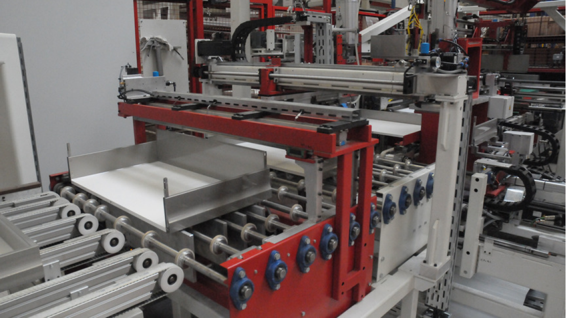 Logo Automated drawer assembly technology