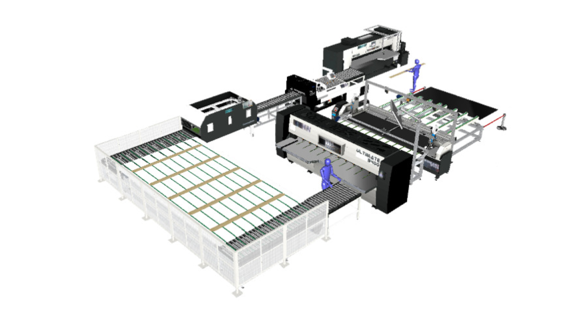 Logo Smart Veneer Faces Production Line