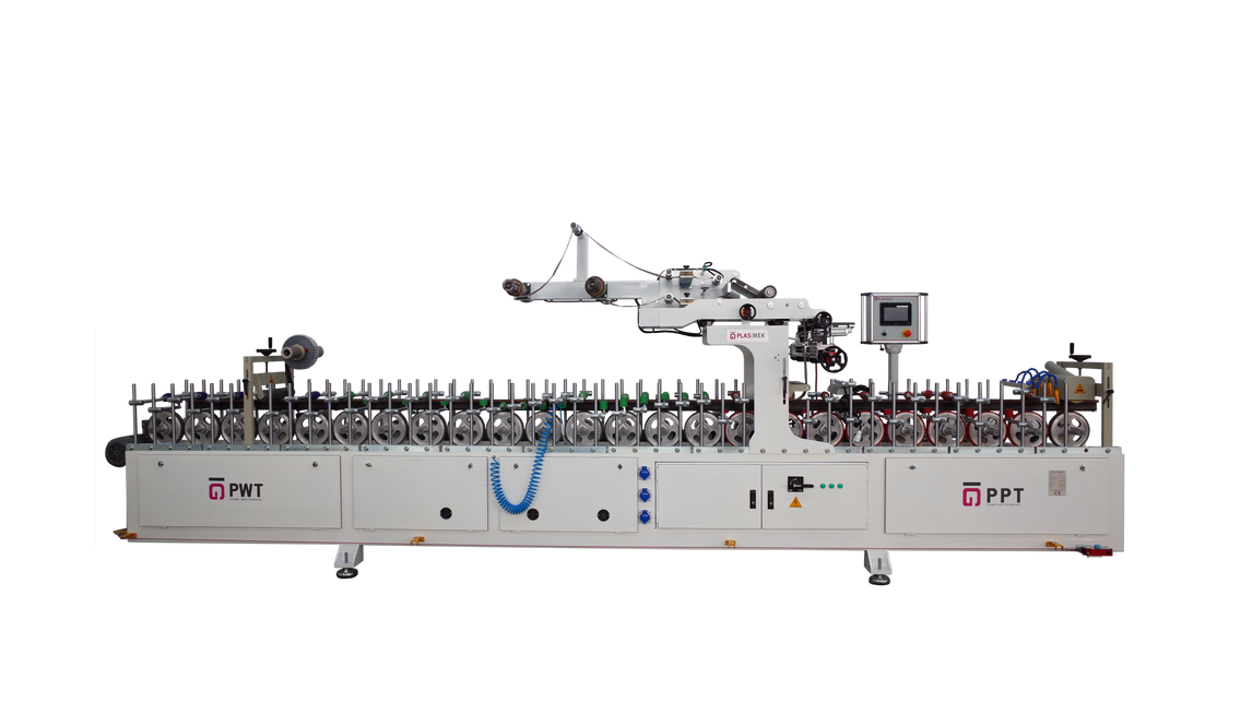 Logo PUR HOTMELT PROFILE WRAPPING MACHINE