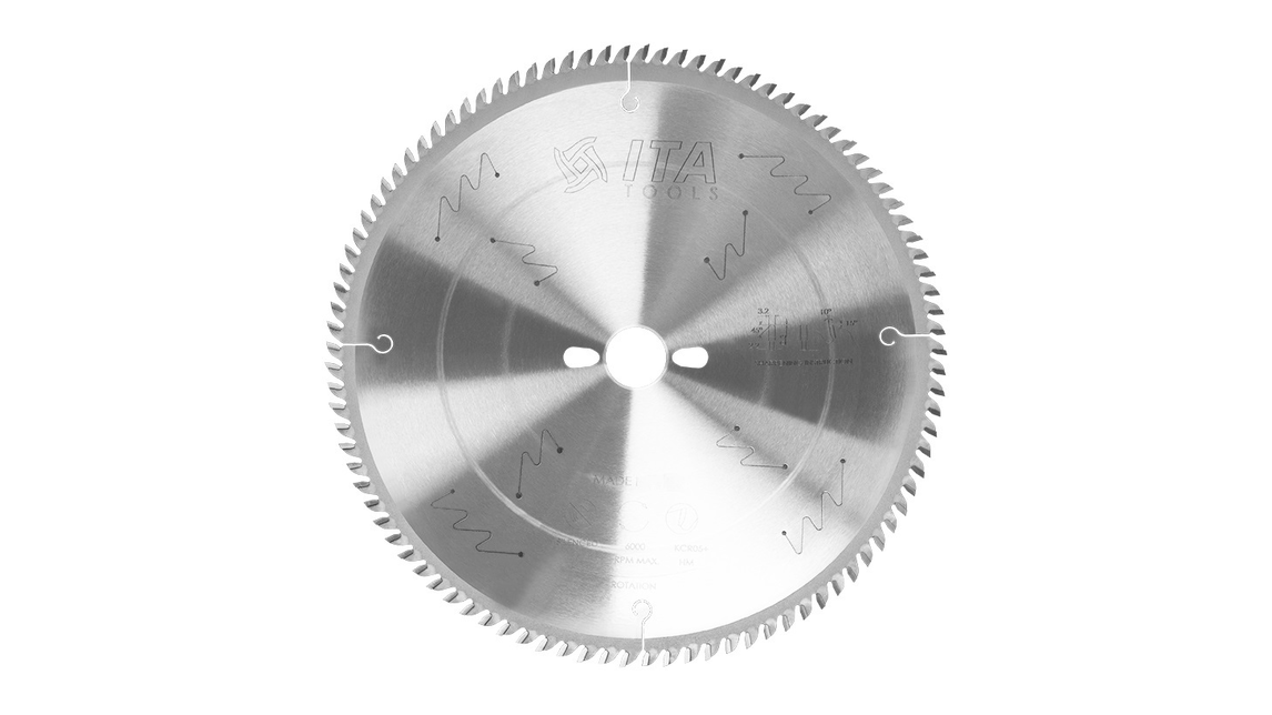 Logo Saw blades with HW and PCD tips