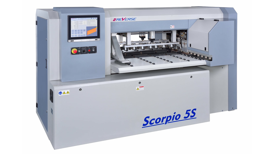 Logo BORING MACHINE CENTER  SCORPIO 5S
