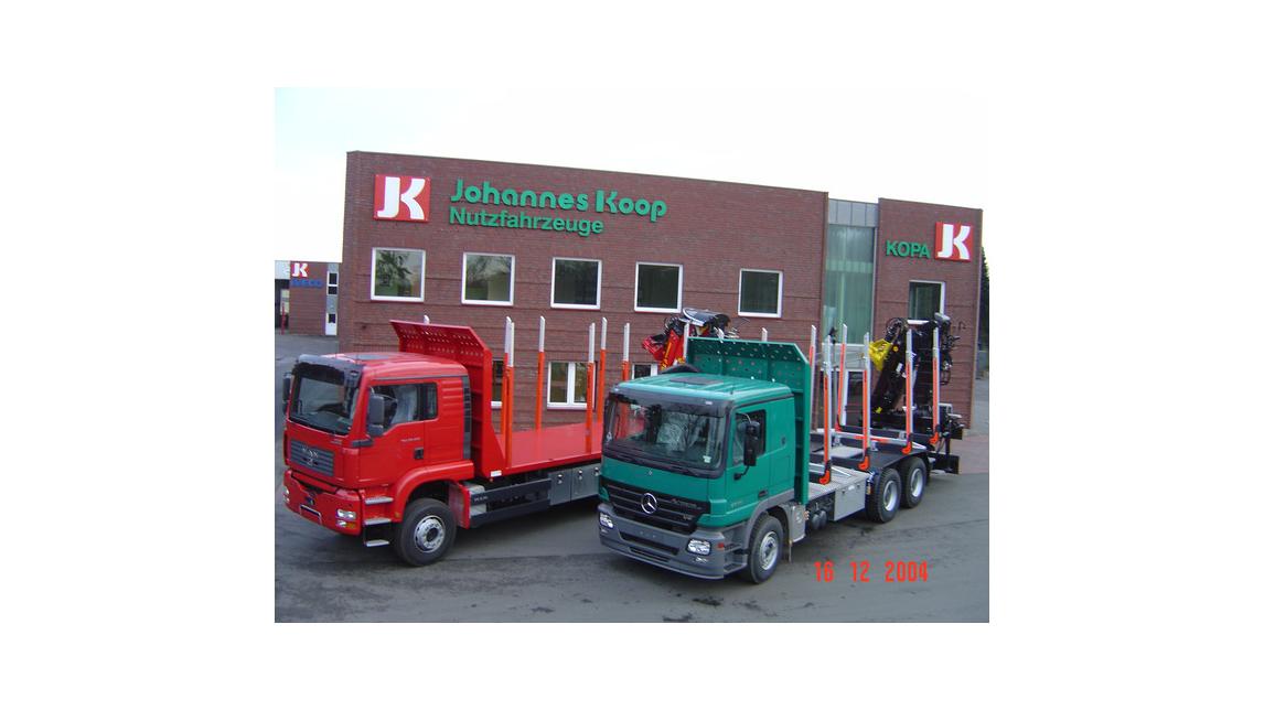 Logo LKW Aufbauten für Holztransport