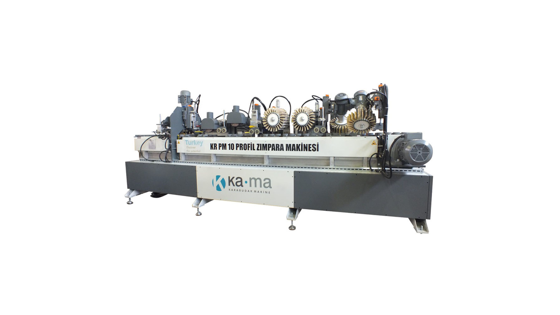 Logo KR PM 10 PROFILE SANDING MACHINE