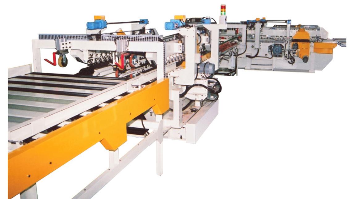 Logo Model THC5-4 + THC10-4 Plywood Sizing Line