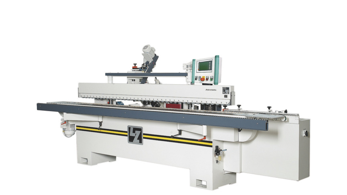 Logo trough feed profiling machine