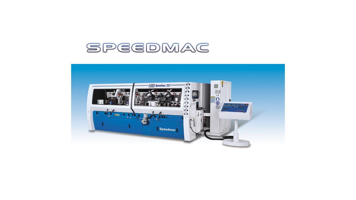 Logo Multi-spindles planer & 4-sides moulders SPEEDMAC