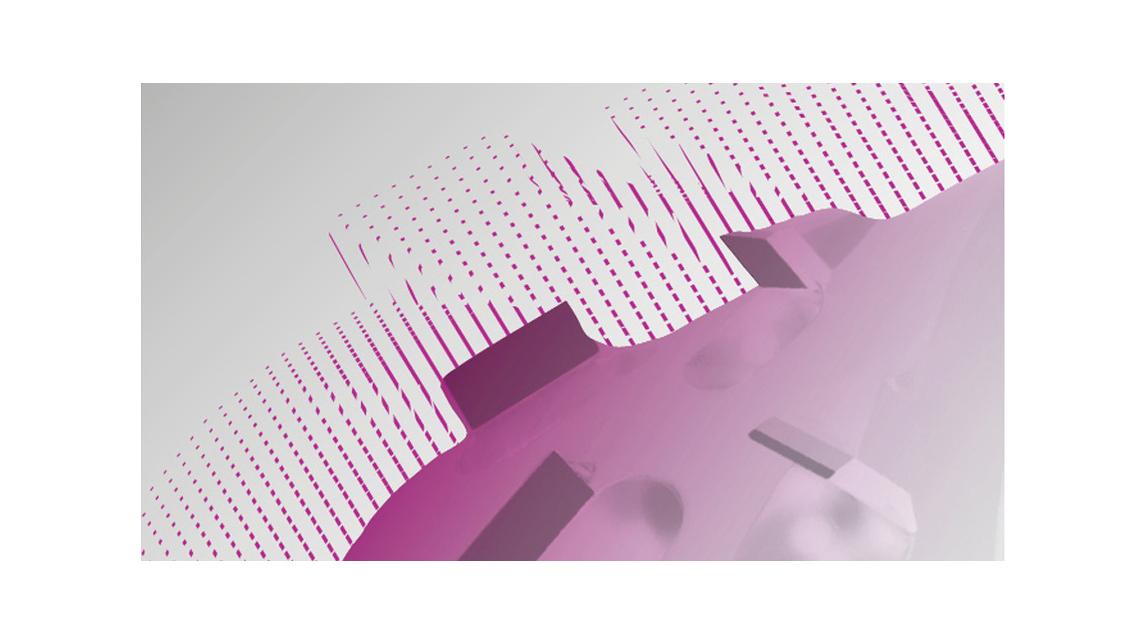 Logo Füge-Fräser mit Diamantschneiden