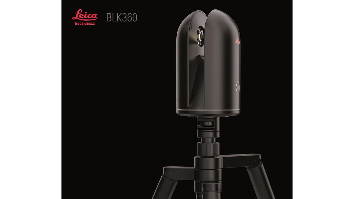 Logo Leica BLK360 - bildgebender Laserscanner