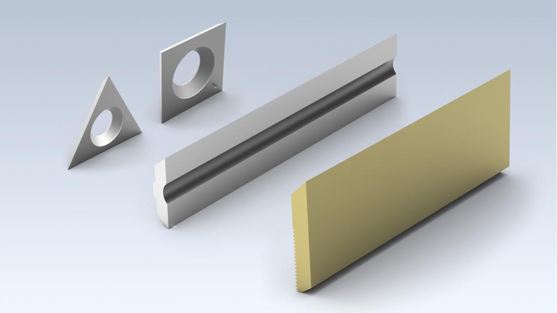 Logo Messer, Schneidplatten, Zerspaner-Segmente, etc.