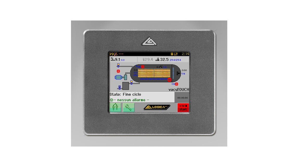 Logo LITouch Kiln Control System - the touch evolution of Delphi