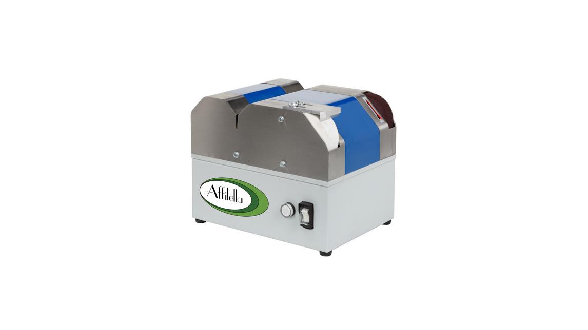 Logo Affilella  professionelle Schleifmaschine für Schärfmaschine und Scher