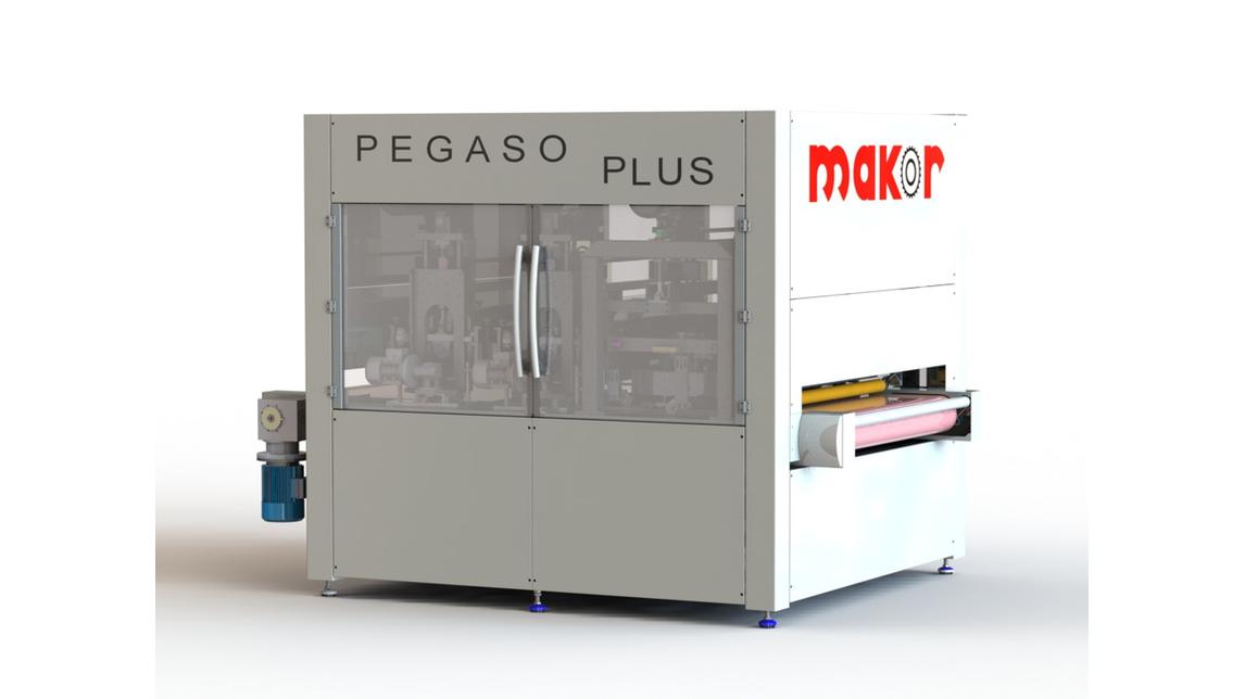 Logo SANDING/POLISHING MACHINE  PEGASO PLUS