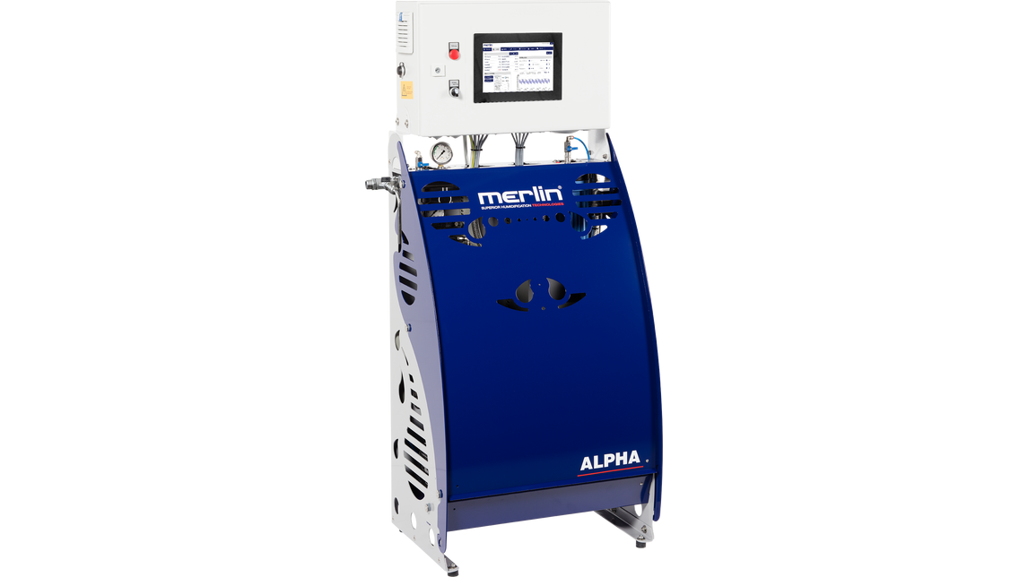 Logo ALPHA high pressure air humidification