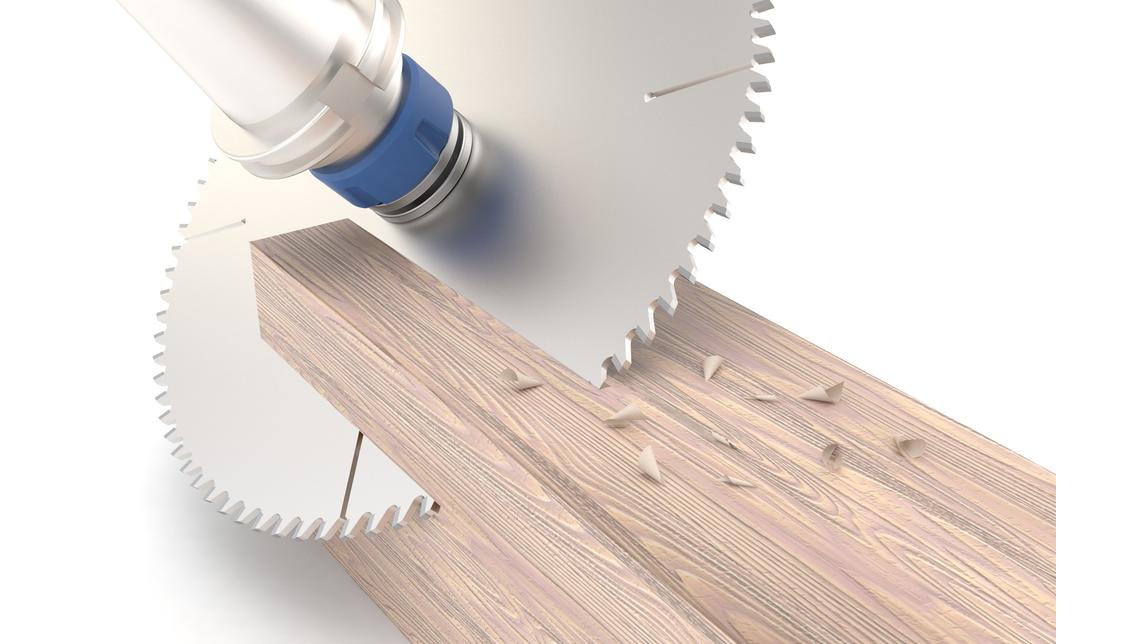 Logo CAM-Holzbearbeitungsmodul, 2-bis 5-achs.