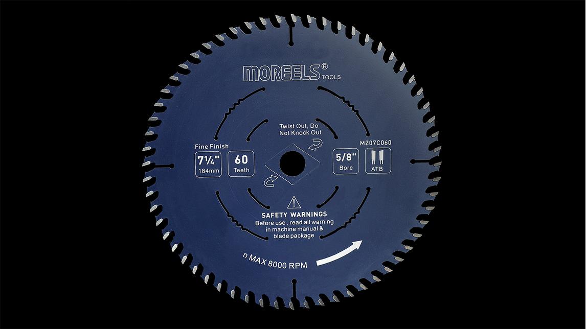 Logo T.C.T. Circular Saw blades