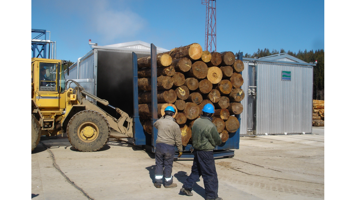 Logo Log conditioning chambers