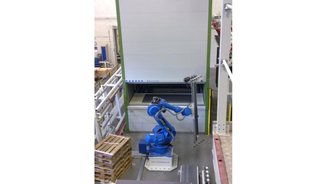 Logo Robot handling