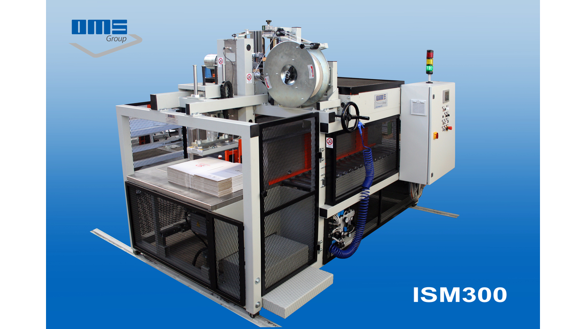 Logo Strapping machine mod. ISM