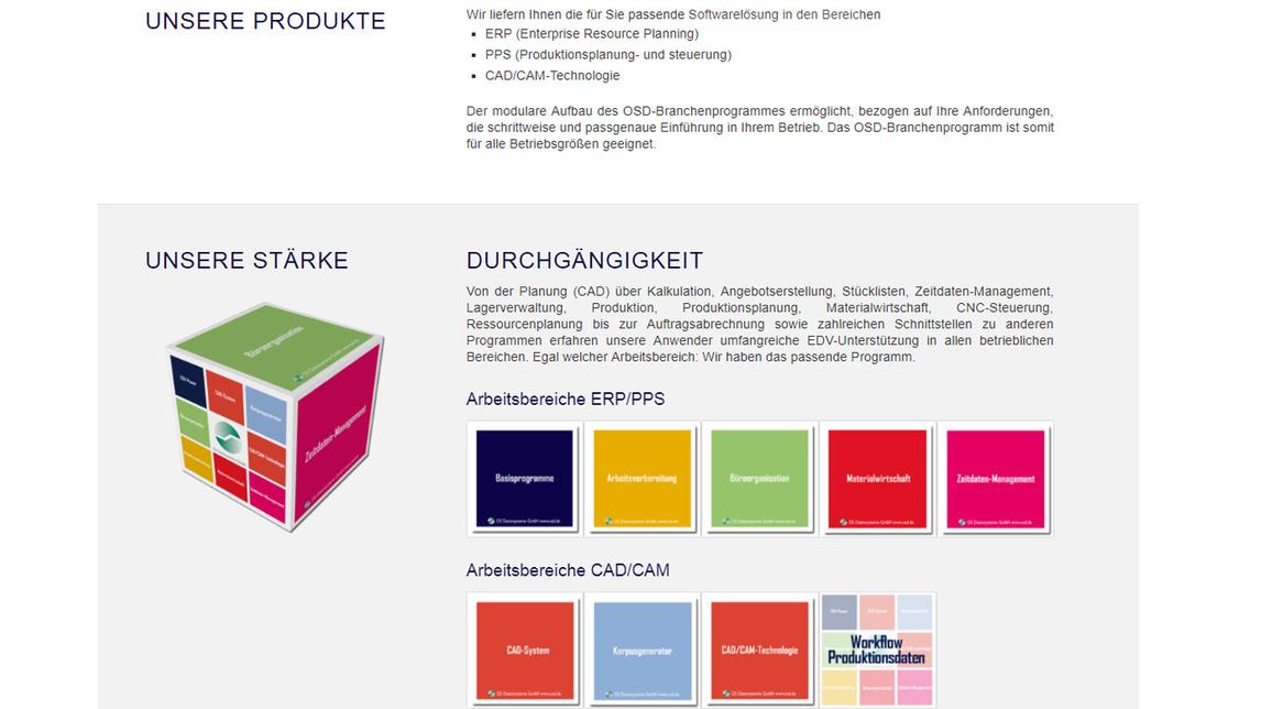 Logo OSD-Branchenprogramm (ERP / PPS)