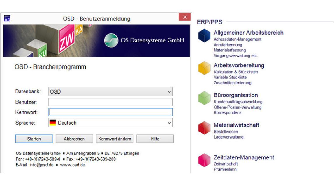 Logo OSD Branchenprogramm