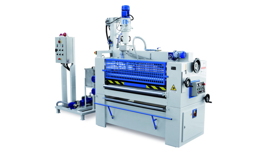 Logo Gluing Machine, Roller Press, Brushing Machine, Transfer