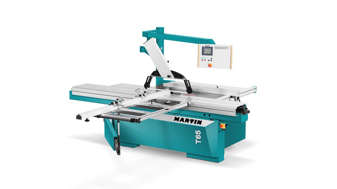 Logo MARTIN sliding table saw T65