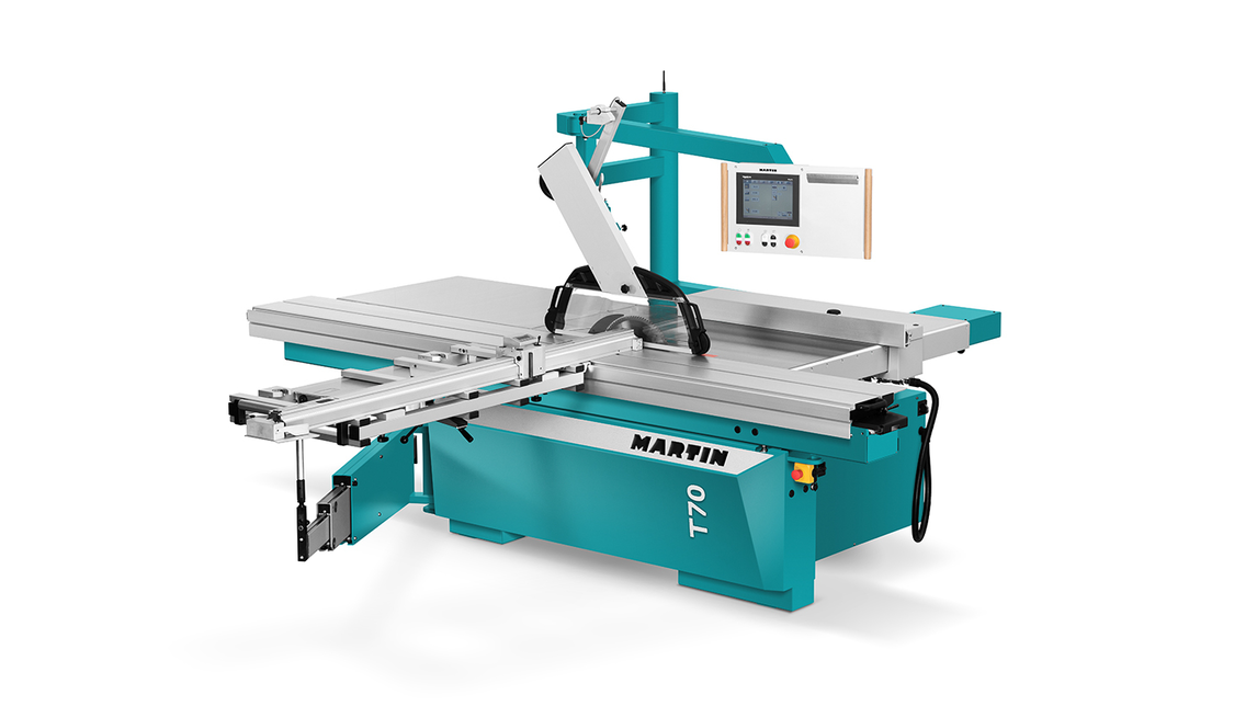 Logo MARTIN sliding table saw T70