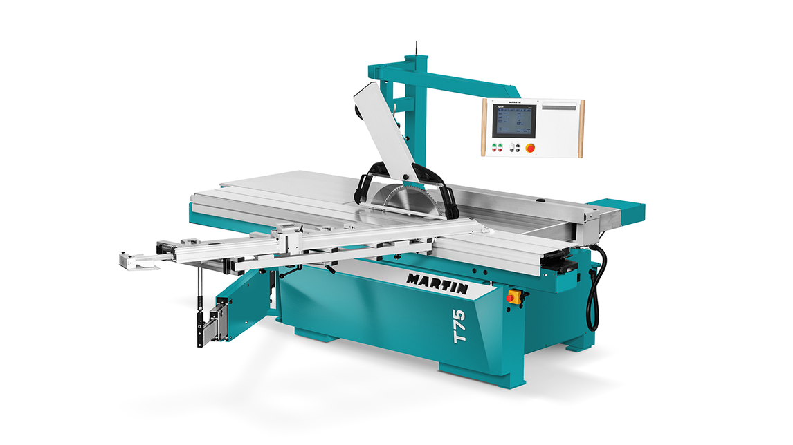 Logo MARTIN sliding table saw T75 PreX