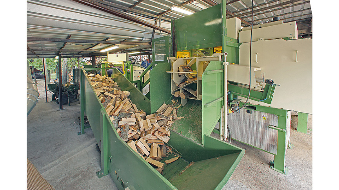 Logo Firewood disc processor