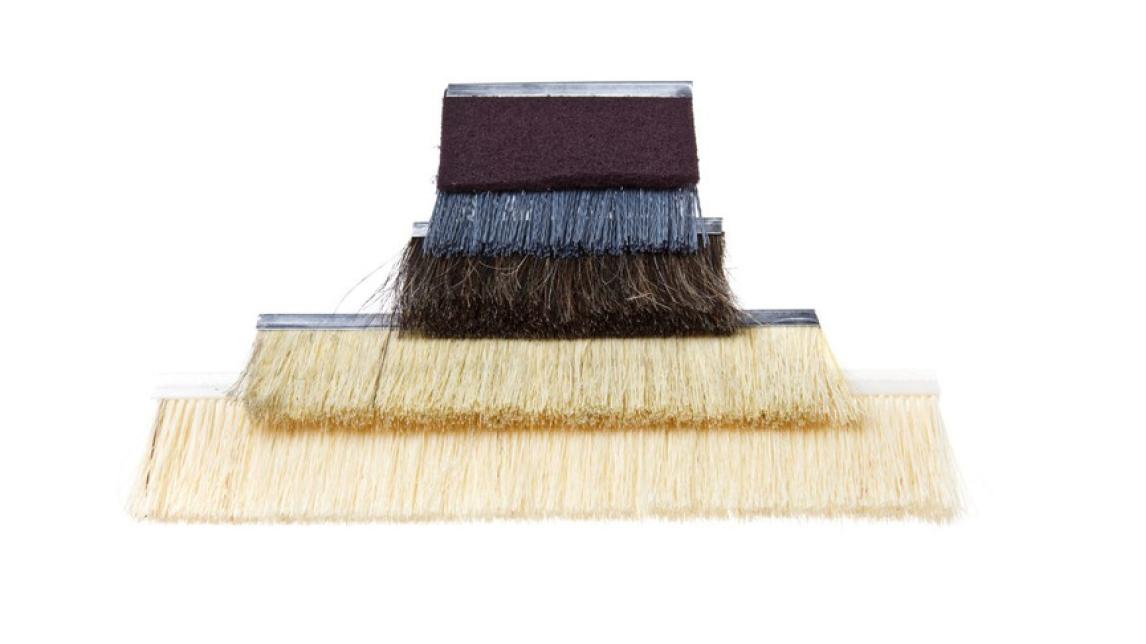 Logo Sanding brushes - flexible process of sanding