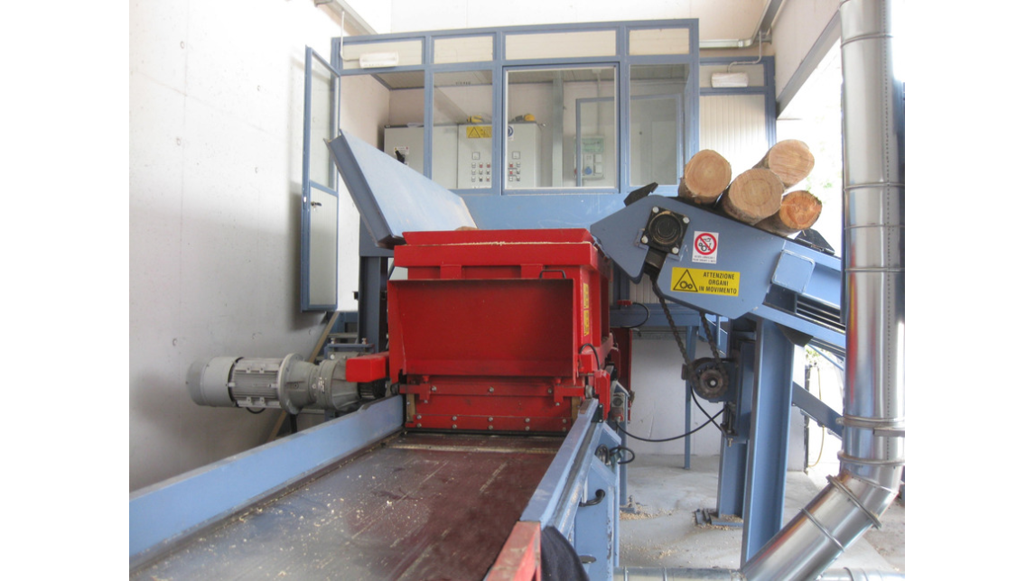 Logo WOOD SHAVINGS MACHINE