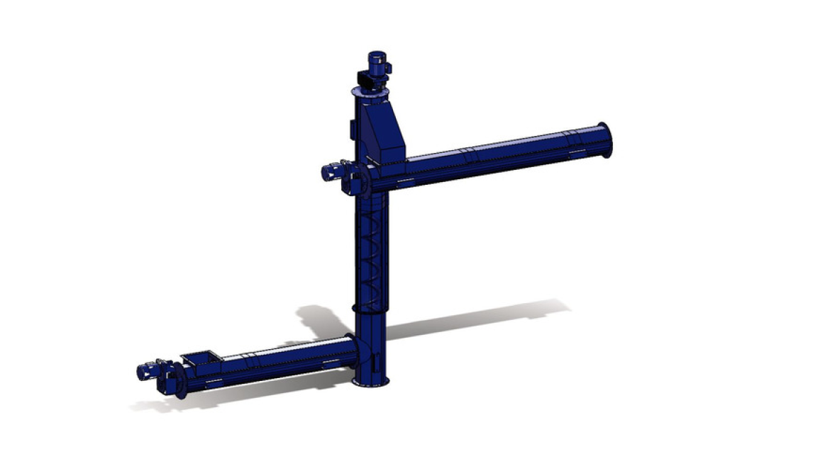 Logo Shaftless Conveyors, vertical systems