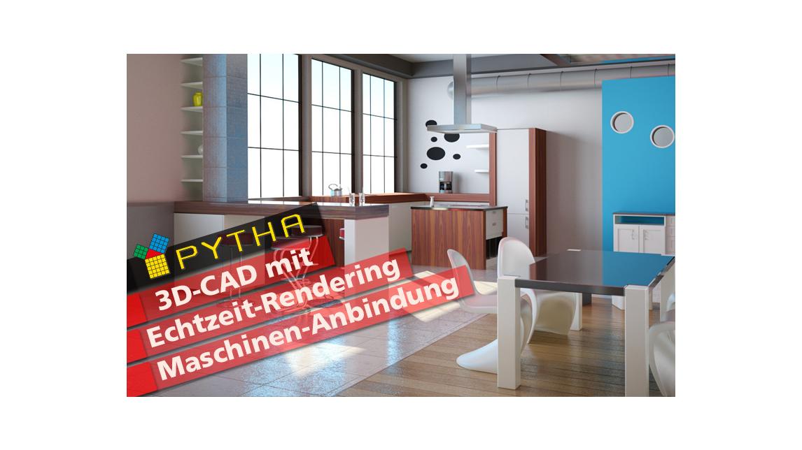 Logo PYTHA 3D CAD