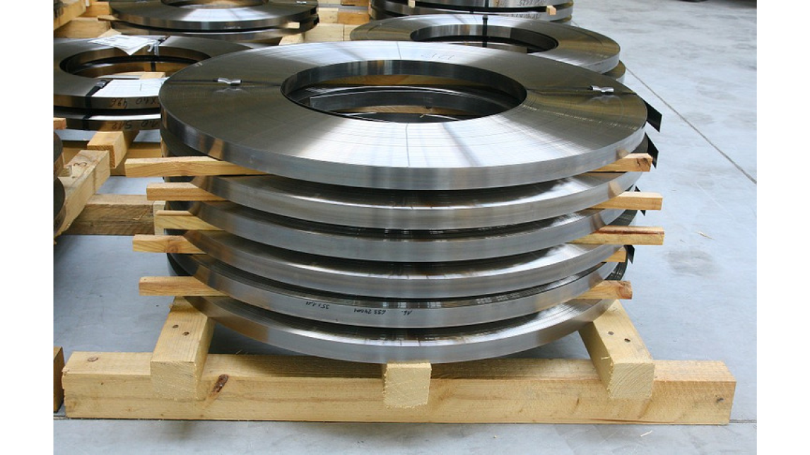 Logo Steel strip for wide and narrow bandsaw production