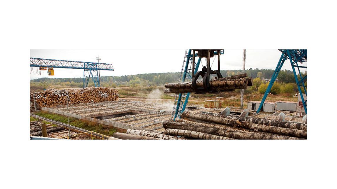 Logo Log handling machinery