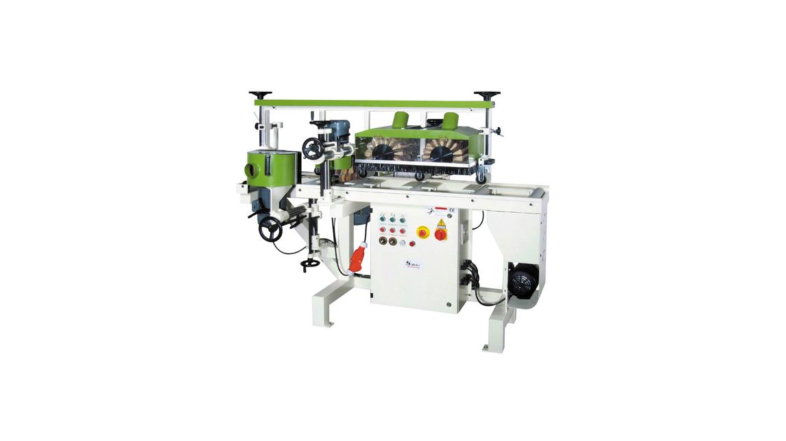 Logo Moulding Sanding Machine 3 , 4 Sides