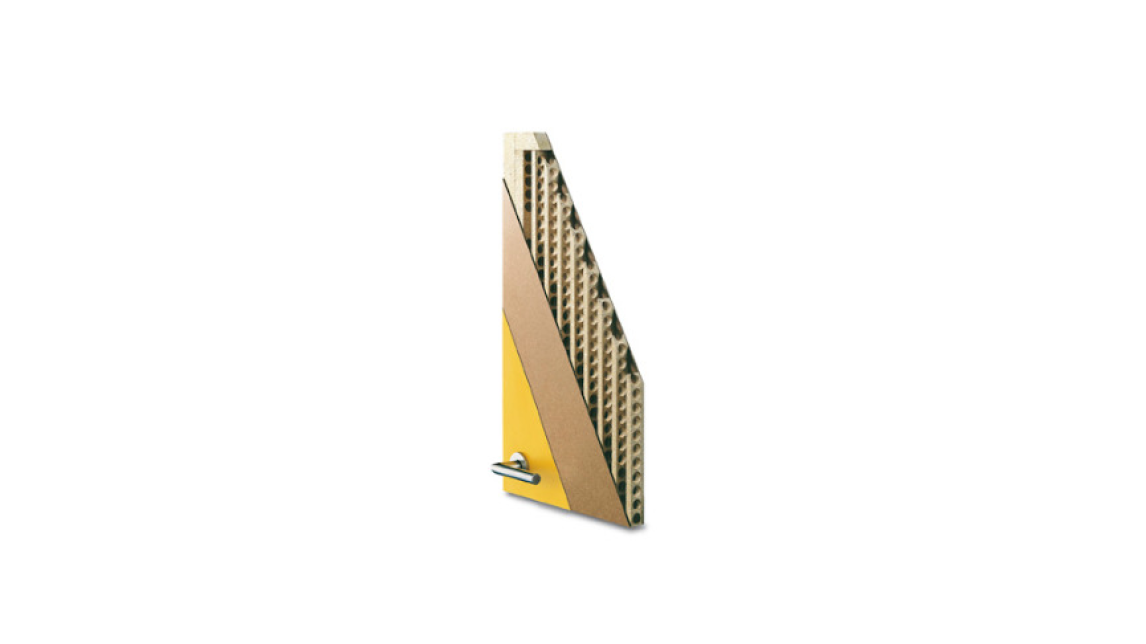 Logo Streifen-Einlage - leicht und stabil