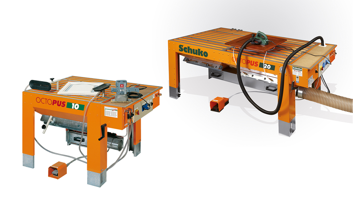 Logo  Sanding table Octopus