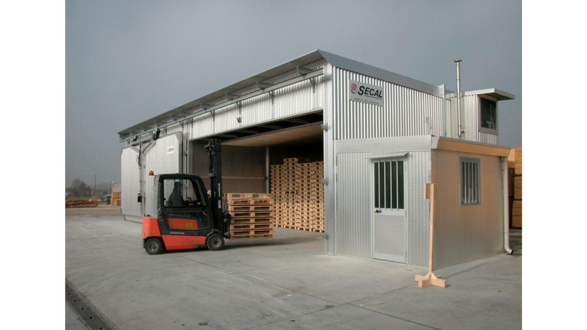 Logo Kilns for pallets and wood packaging heat treatment ISPM15/FAO