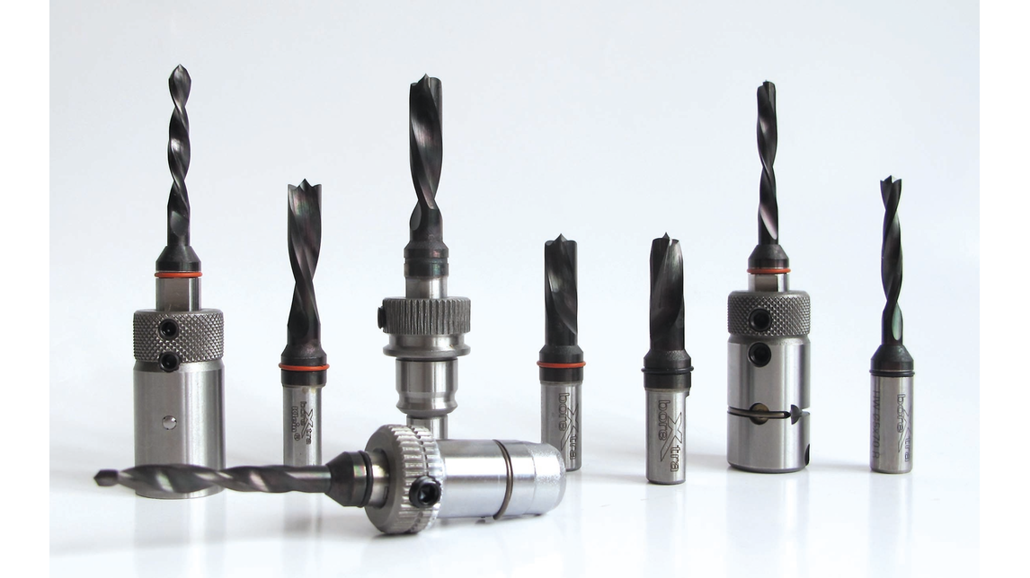 Logo Coated drill bits for boring machines