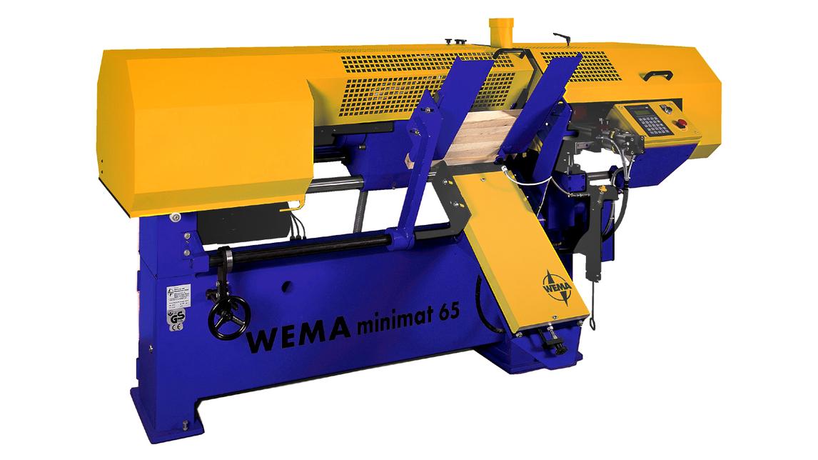 Logo WEMA Minimat 65CNC - Automatic woodlathe