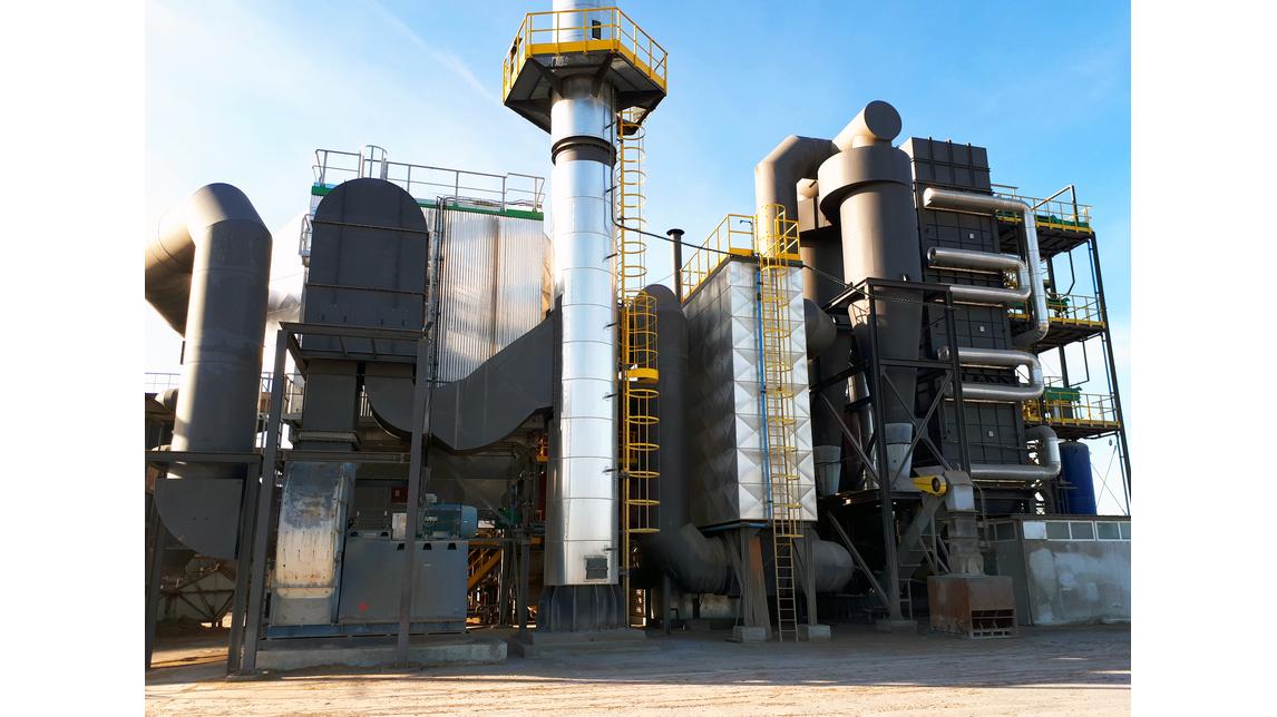 Logo Biomass fired energy plants