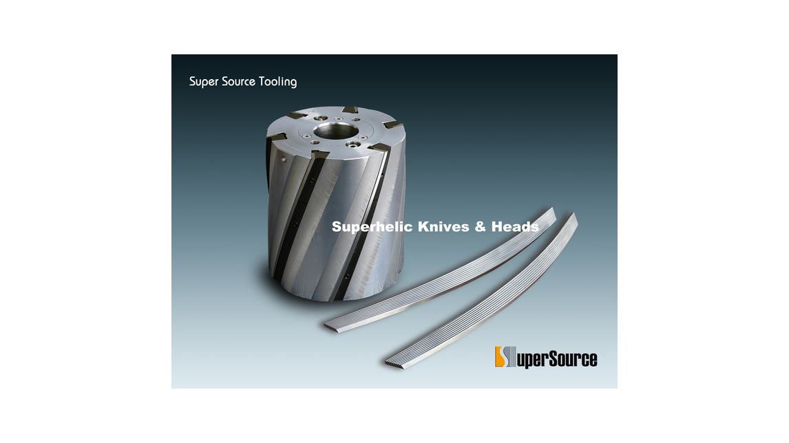 Logo Superhelic Knives & Cutterheads