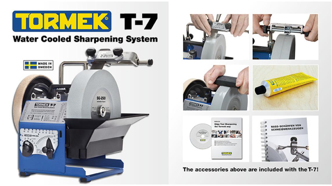 Logo Water Cooled SharpeningTormek T-7