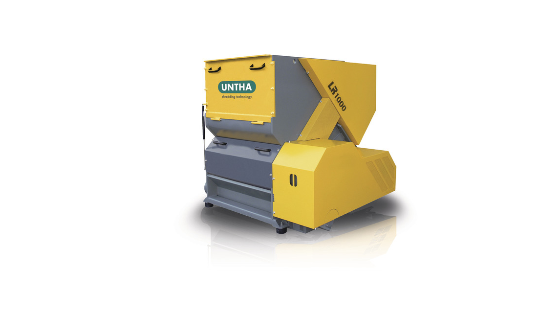 Logo LR1000/LR1400 wood shredders