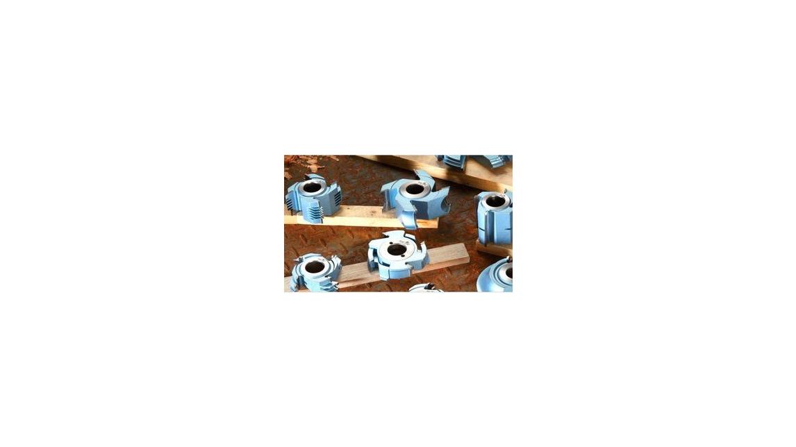 Logo Carbide Shaper Cutters, Thicker T.C.T Micro-grain Carbide Tips