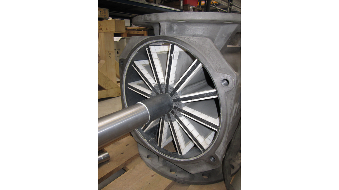 Logo Wear Protection for rotary valves