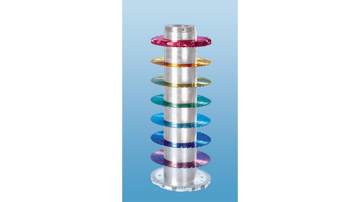 Logo Brightly Color-Coded Circular Sawblades