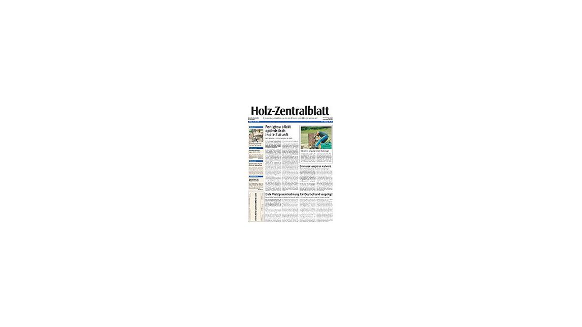 Logo Holz-Zentralblatt